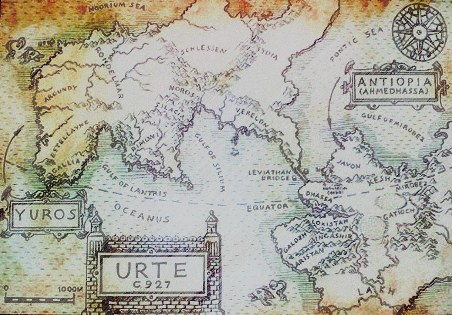 Moontide Quartet Map
